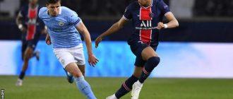 Mbappé a marqué huit buts en quatre matches de Ligue des Champions en début de saison, mais n'a pas réussi à marquer City lors du premier match.
