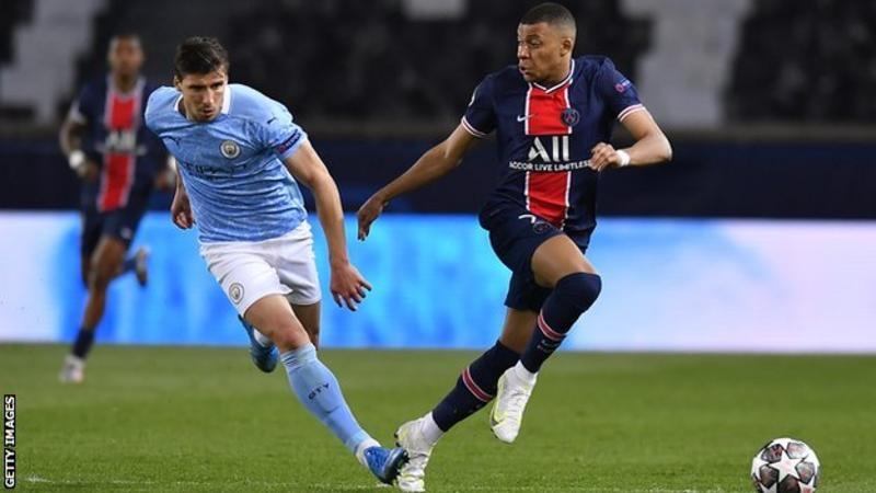 Mbappé a marqué huit buts en quatre matches de Ligue des Champions en début de saison, mais n'a pas réussi à marquer City lors du premier match.<br>