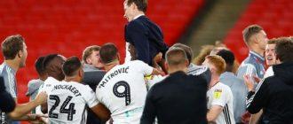 Fulham a remporté la Promotion en Premier League en battant Brentford 2-1 en finale des playoffs de Wembley en août.