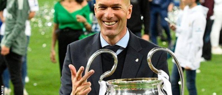 Zidane est le seul entraîneur de l'histoire à remporter trois titres consécutifs de champion d'Europe / Ligue des Champions.